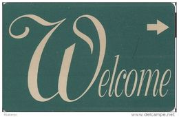 Generic Welcome Room Key Card
