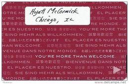 Hyatt Regency - Check Scan Of Back For Differences!