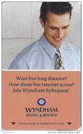 Wyndham Hotel Room Key Card