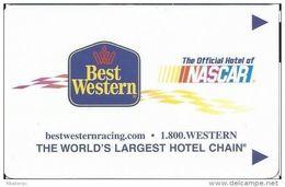 Best Western NASCAR Hotel Room Key Card