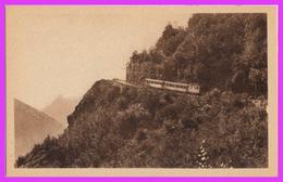 LUCHON (31) - Chemin De Fer De Superbagnères. Grand Tournant De Mail De Soulan - Luchon