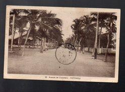 Cotonou (dahomey) Avenue Des Cocotiers (voyagé 1936) (PPP5056) - Dahomey