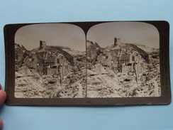 The Convent Of MAR SABA, PALESTINE ( 1382 - White C° 1903 / PERFEC ) !! - Photos Stéréoscopiques