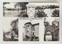 CPSM AVAILLES LIMOUSINE (Vienne) - 5 Vues - Availles Limouzine
