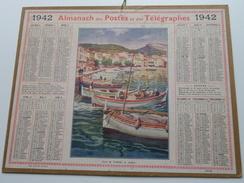 1942 Port De Cassis, 1e Matin ( Oberthur Rennes : Zie/voir Photo Pour/voor Detail !! - Calendriers