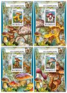 DJIBOUTI 2016 - Mushrooms. OFFICIAL Deluxe Sheets - Djibouti (1977-...)