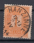 """Belgien 1 C Ziffer 1912 - """"Hanzine"""" Zentrisch Gestempelt - 1912 Pellens"""