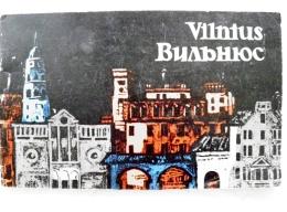 Issue From Lithuania Vilnius At Night Am Abend 1965, Issued In 5 Languages - Boeken, Tijdschriften, Stripverhalen
