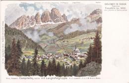 Tirol, Fassatal: Campitello Mit Langkofelgruppe * 17. VI. 1924 - Other Cities