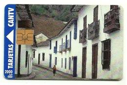 Venezuela - Tessera Telefonica Da 2000 Bolivares T12 - CANTV, - Paysages