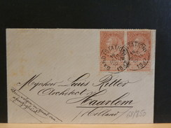 68/850  PETITE ENVELOPPE POUR LA HOLLANDE 1897