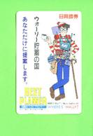 JAPAN - Magnetic Phonecard/Where's Wally - Japan