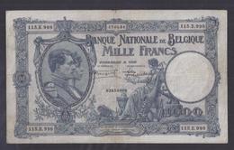 1000 Frank - Francs  - NATIONALE REEKS  BLAUW  -  M 97b - Zeer Fraai + - 1000 Francs & 1000 Francs-200 Belgas