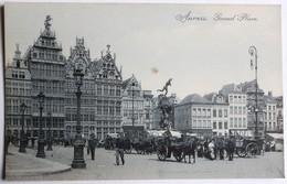 CPA Belgique Anvers Antwerpen Marché Belle Animation - Antwerpen