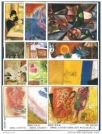 1987 BHOUTAN  BF 133-44 ** Chagall, Tableaux