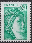 France - YT 1967 - Type Sabine, Tirée D'une Oeuvre Du Peintre Louis David. 1ere Série - Emeraude - Unused Stamps