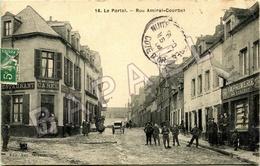 Le Portel (62) - Rue Amiral Courbet (Circulé En 1908) - Le Portel