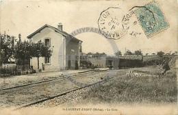 /! 9473 - CPA/CPSM - 69 - Saint Laurent D'Agny : La Gare - Autres Communes