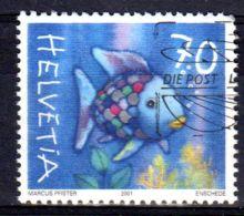 2001; Arc En Ciel - Poisson, 1027; Oblitéré, Lot 48121 - Schweiz