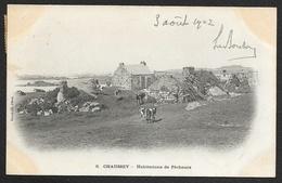 ILES CHAUSEY Habitations De Pêcheurs (Gallot) Manche (50) - Other Municipalities