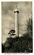 ANGLESEY - THE MARQUESS OF ANGLESEY'S COLUMN, LLANFAIRPWLL RP Ang145 - Anglesey