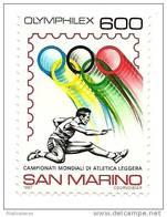 1987 - San Marino 1214 Mondiali Di Atletica
