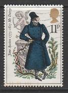 GB 1975 Birth Centenary Of Jane Austen (Novelist) Multicoloured 0 Used SG.991 - 1952-.... (Elizabeth II)