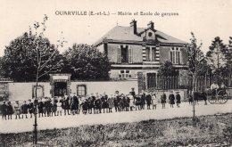 V9545 Cpa 28 Ouarville - Mairie Et Ecole De Garçons - France