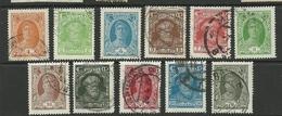 RUSSLAND RUSSIA 1928 = 11 Werte Aus Michel 339 - 353 O