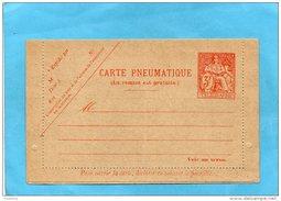 PNEUMATIQUE-Entier Postal- Carte Neuve Bordure Non Collée  -3 FRS   -chaplain-  S 1cote 25 Eu En 2005
