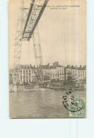 NANTES : La Nacelle Du Pont Transbordeur Traversant La Loire. 2 Scans. Edition Guénault - Nantes