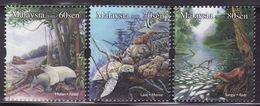 MALAYSIA - 2010 -  Malaysia Threatened Habitats , Flora, Fauna, Forest, Wildlife, Turtle Ocean (stamp) MNH**
