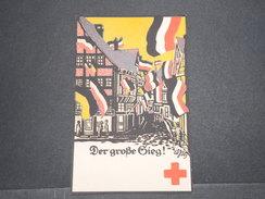 CROIX ROUGE - Carte Postale Allemande Croix Rouge Illustrée , Signée - L 7672 - Croix-Rouge