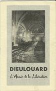 """Militaria Religion Dieulouard """"L'Année De La Libération"""" Photo Du Curé De Dieulouard Chanoine G.Clanché - Journaux - Quotidiens"""