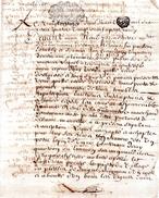 Vend à René De La GUERINIERE,Pont De Cé,paroisse De Saint Maurille.3 Pages.20 Avril 1690.. - Documents Historiques