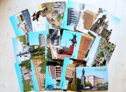16 Cards In Folder From Ussr 1987 Armenia Yerevan - Armenië