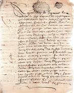 Déclaration De Honorable Homme René De La GUERINIERE Au Fief De La Basse Et Motte Engibert,bois Ducé.6 Pages.1693. - Documents Historiques