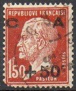 France - N°255 Oblitéré - Coin Inférieur Gauche Abîmé