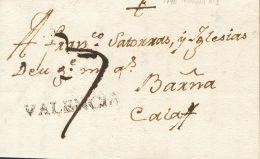 PREFILATELIA. Comunidad Valenciana. SOBRE 1790. MORELLA A CALAF. Marca VALENCIA (P.E.1) Edición 2004. MAGNIFICA Y - Spanje