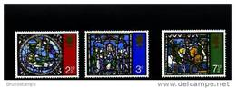 GREAT BRITAIN - 1971 CHRISTMAS   SET MINT NH - 1952-.... (Elisabetta II)