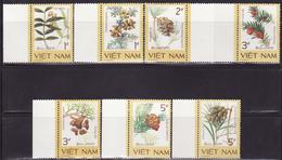 Vietnam 1986 Rare Flowers Trees Plants Berries Forest  Nature 7v Mi 1760-1766  MNH**
