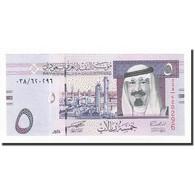 Saudi Arabia, 5 Riyals, Undated (2007), KM:32a, NEUF - Arabie Saoudite