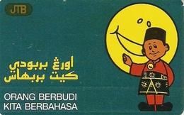 *BRUNEI* - Scheda Usata - Brunei