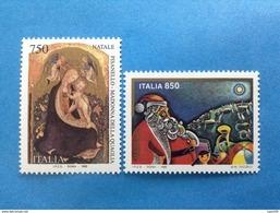 1996 ITALIA FRANCOBOLLI NUOVI STAMPS NEW MNH** - NATALE - - 6. 1946-.. Repubblica