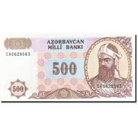 Azerbaïdjan, 500 Manat, 1994-1995, KM:19b, Undated (1993), NEUF - Azerbaïdjan