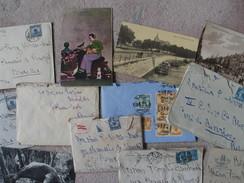 25 Lettres / Cartes Postales/enveloppes Vides + 7 Photos Suchow De Madge Van Der Stegen à Pierre Weissenbruch 1923-1926?