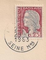 DECARIS Timbre De CARNET Sur DEVANT D'enveloppe. LE HAVRE Seine Maritime. - France