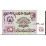 Tajikistan, 20 Rubles, 1994, 1994, KM:4a, NEUF - Tadjikistan
