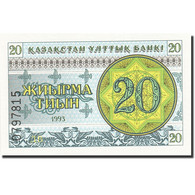 Kazakhstan, 20 Tyin, 1993-1998, 1993, KM:5, NEUF - Kazakhstan