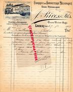 81 - LAVAUR- FACTURE J. RIVES FILS-FABRIQUE BONNETERIE MECANIQUE-FILATURE USINE HYDRAULIQUE-CAILLASSOU CASTRES-1909 - Textile & Vestimentaire